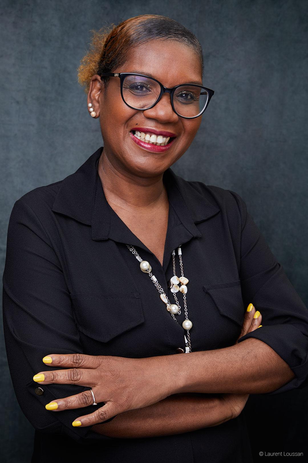 portrait branding Murielle Thézénas @ Laurent Loussan