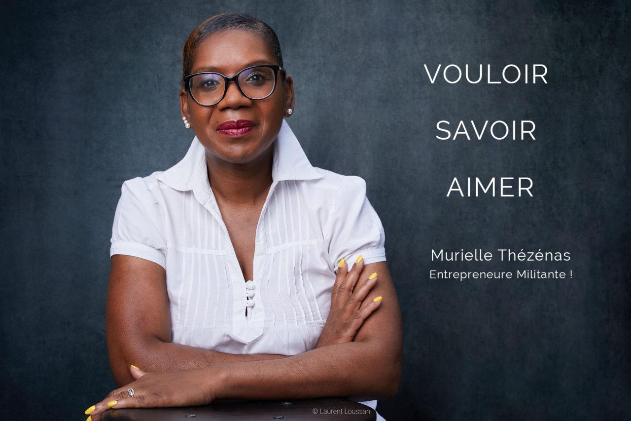 Photographe portrait Paris Murielle Thézénas business coach © Laurent Loussan